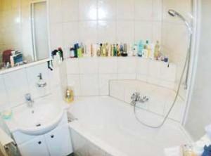 Bild Badezimmer vor Teilsanierung