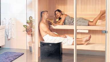 Sommer, Sonne, … Sauna?